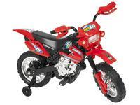 Mini Moto Elétrica Infantil Cross 6V