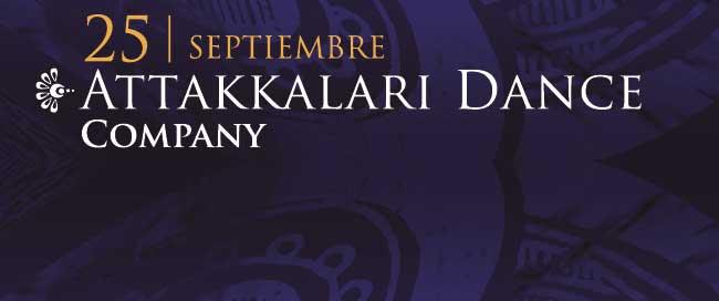 25 Septiembre. Attakkalari Dance Company