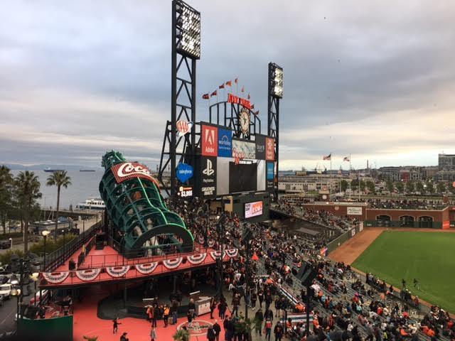Giants game ATT Park