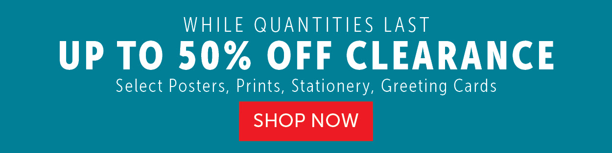 Up to 50% OFF Clearance items!