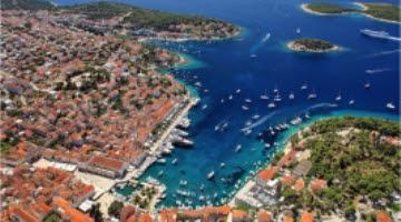 The island of Hvar  and Pakleni otoci, Boat tour, Croatia