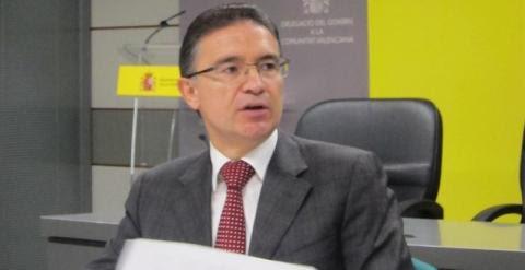 El delegado del Gobierno en la Comunitat Valenciana, Serafín Castellano.