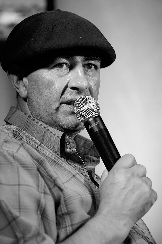 César Rodríguez, del Sindicato de Peones de Estancia. / Foto: Sandro Pereyra (archivo, abril de 2014)