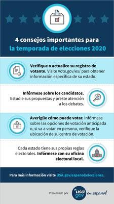 Guía de USAGov en Español para votar en las elecciones 2020 1