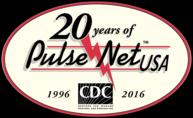 Logo: PulseNet's 20th year anniversary