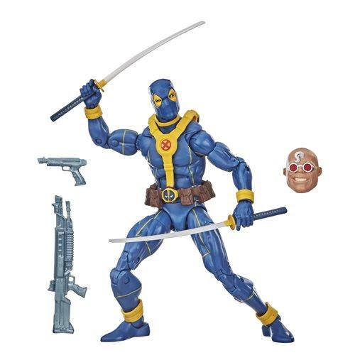 Image of Deadpool Marvel Legends Wave 3 (Strong Guy BAF) - Blue Deadpool 6-inch Action Figure - OCTOBER 2020