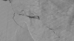 La imagen de satélite que confirma la ruptura
