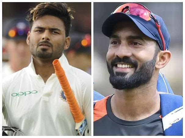 Rishabh Pant has the talent but Dinesh Karthik has experience along with talent