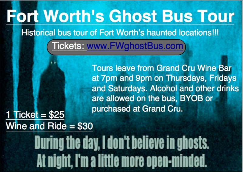 Fort Worth's Ghost Bus Tour