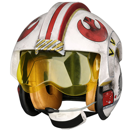 LUKE SKYWALKER REBEL PILOT WEARABLE HELMET
