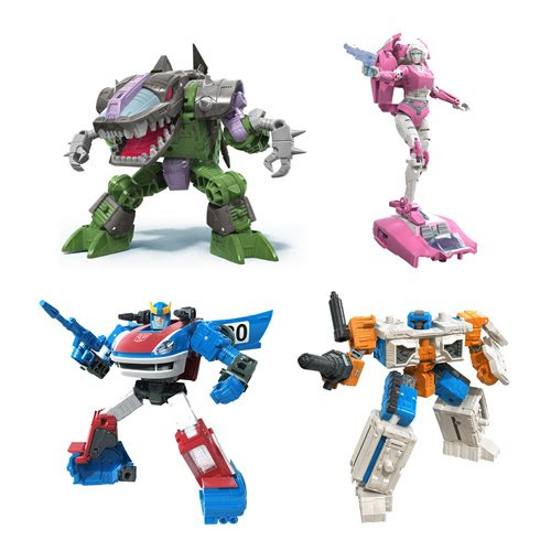 Image of Transformers Generations War for Cybertron Earthrise Deluxe Wave 2 - Set of 4 - JULY 2020
