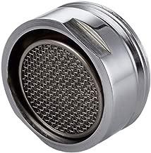 Breeezie 1Pcs ABS Rosca macho Grifo de lavabo Bubbler Cabezal giratorio Boquilla ajustable Conector de aireador Filtro fino 28mm / 24mm Accesorios de cocina