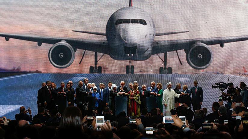 2.000 aviones y 350 destinos: Inauguran el aeropuerto más grande del mundo en Turquía (FOTOS)