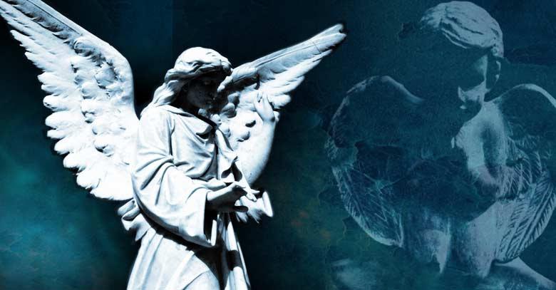 angel de la guarda estatua oracion proteccion
