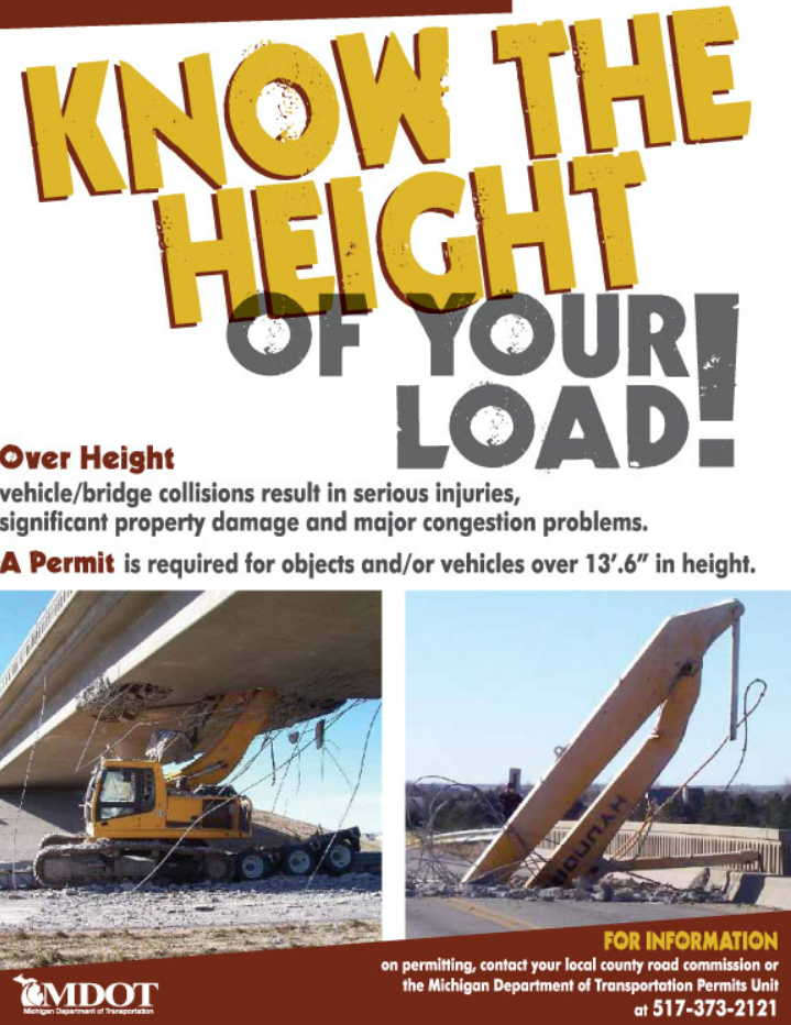 Know the height of your load