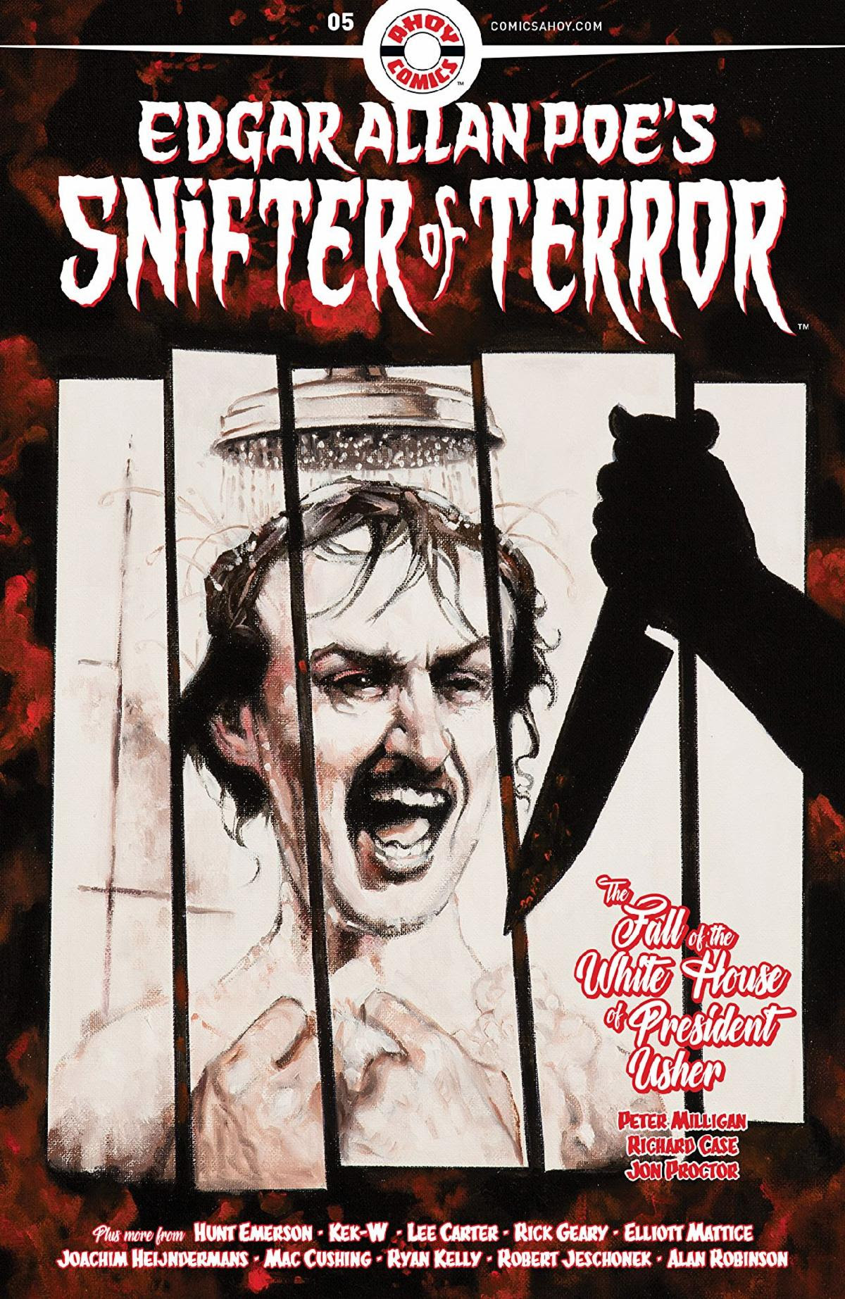 Edgar Allan Poe_s Snifter of Terror by Richard Case