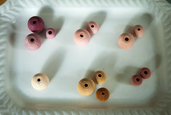 Naturally-Dyed-Wood-Beads