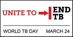 The figure above is the official logo for World TB Day.