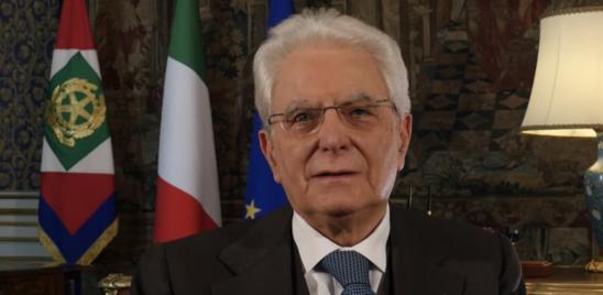 """MATTARELLA: """"IL LAVORO PORTERA' IL PAESE FUORI DALL'EMERGENZA"""""""