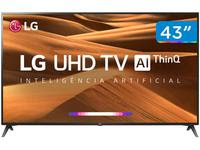 Smart TV 4K LED 43? LG 43UM7300PSA Wi-Fi HDR