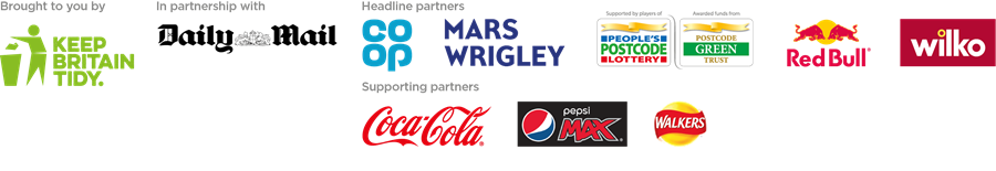 GB Spring Clean partner logos