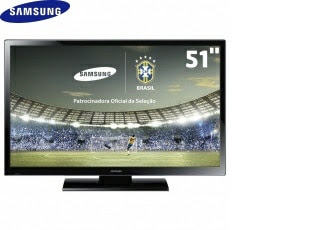 "TV 51"" Plasma ED Samsung PL51F4000"