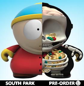 South Park Treasure Cartman Anatomy Art Figure