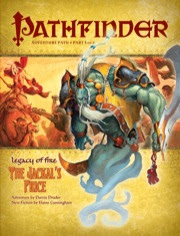 Pathfinder Adventure Path #21:
