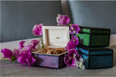 Historic and Handcrafted Mexican Olinalá Boxes
