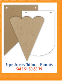 Chipboard Pennants