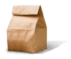 brown bagged lunch