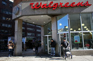 A Walgreens store in Union Square in Manhattan. The drug retailer said on Sunday it would no longer offer Theranos lab services, which were available in Arizona.