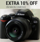 Extra 10% off on Nikon Camera