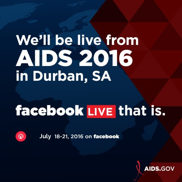 AIDS.gov is on Facebook Live