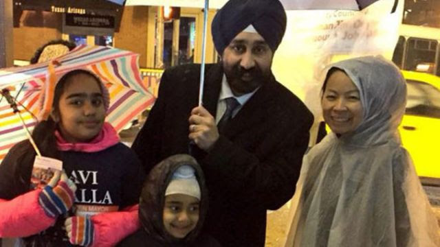 Muslim Sikh NJ Mayor Just Abolished Christmas 'To Respect Other Religions' (Video)