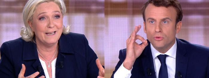 Macron convainc davantage après le débat, Le Pen déçoit ses partisans, Hollande donne une dernière interview...