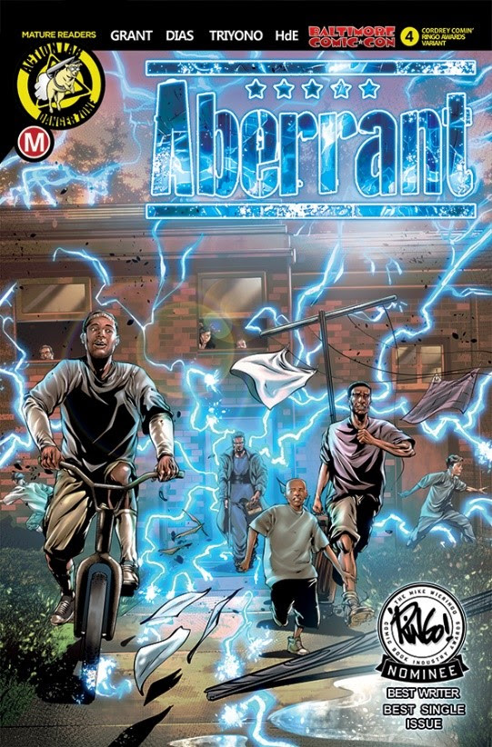 Aberrant BCC Exclusive Cover