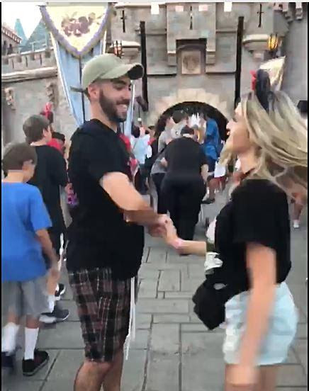 Jenae_ DiGennaro _ Noah Meyer at Disneyland