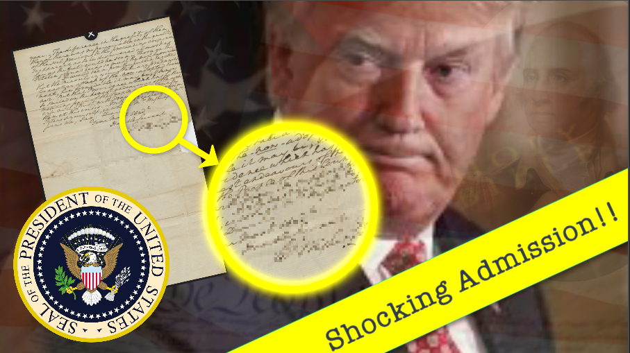 Presidential Shocker!  Hidden Letter Exposes Admission That Will 'Change Everything'!