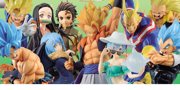BANPRESTO DRAGON BALL FIGURES & MORE
