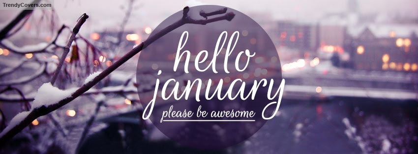 Hello January facebook cover 1420017103
