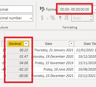 custom decimal formats