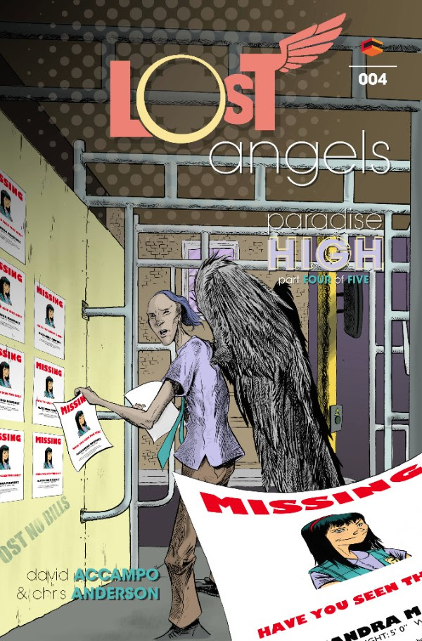 Lost Angels #4 Cover