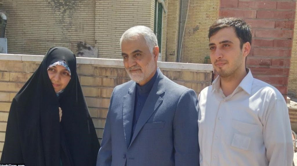 Soleimani with Students