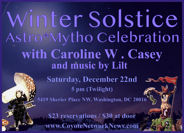 Invitation to Join us this Saturday for the Winter Solstice Celebration