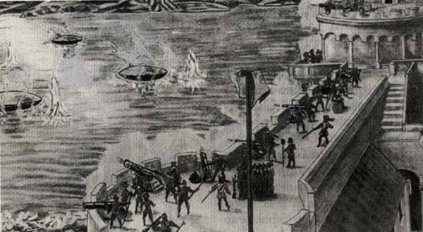 UFO Genova Nizza - Que ocurrio en 1608 en los cielos de Niza y Genova
