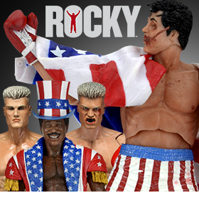 ROCKY IV 40TH ANNIVERSARY FIGURES