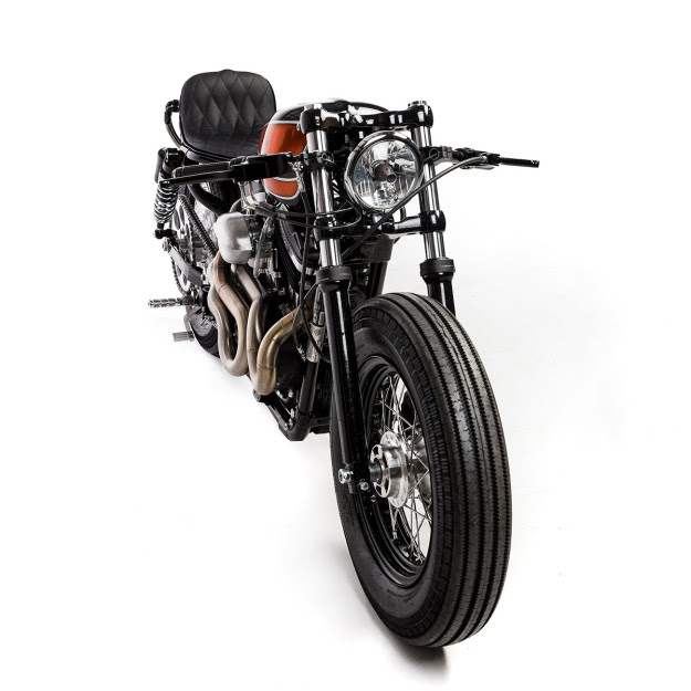 Harley Sportster 48 motorcycle built by Australia's first communal motorcycle workshop, The Kustom Kommune.