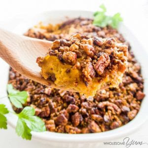 Sugar Free Sweet Potato Casserole recipe.
