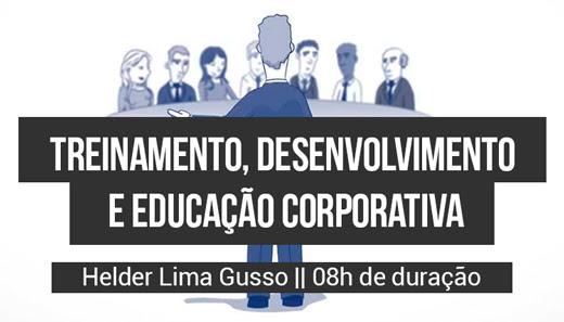 """Curso: """"Treinamento, Desenvolvimento e Educação Corporativa"""" 1"""